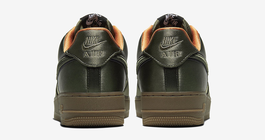 Official Images At The Nike Air Force 1 Low Quilted Olive 04