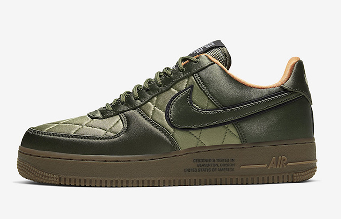 Official Images At The Nike Air Force 1 Low Quilted Olive ft