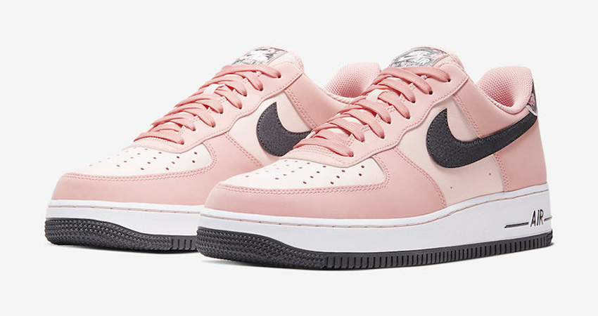 Official Images At The Nike Air Force 1 Pink Floral 01