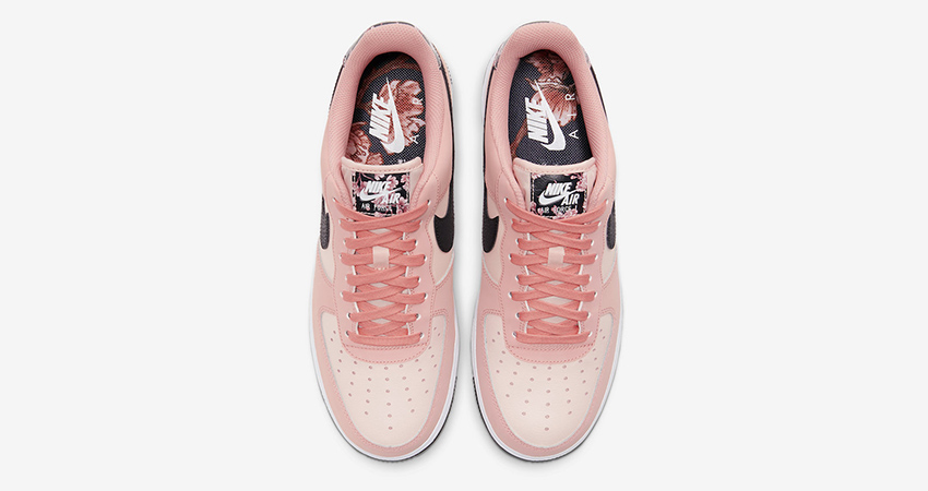 Official Images At The Nike Air Force 1 Pink Floral 03