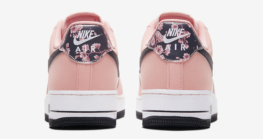 Official Images At The Nike Air Force 1 Pink Floral 04