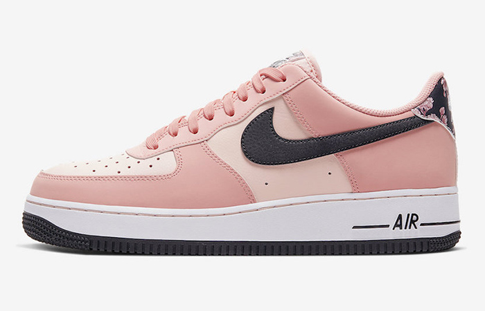 Official Images At The Nike Air Force 1 Pink Floral ft