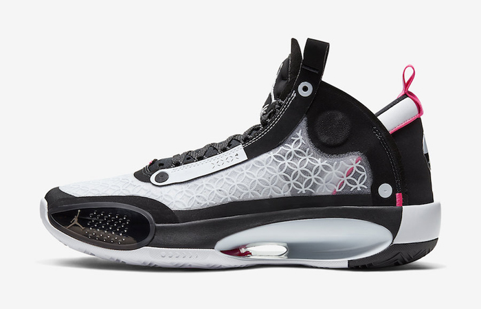 Official Look At The Air Jordan 34 Chinese New Year Black Metallic Silver ft