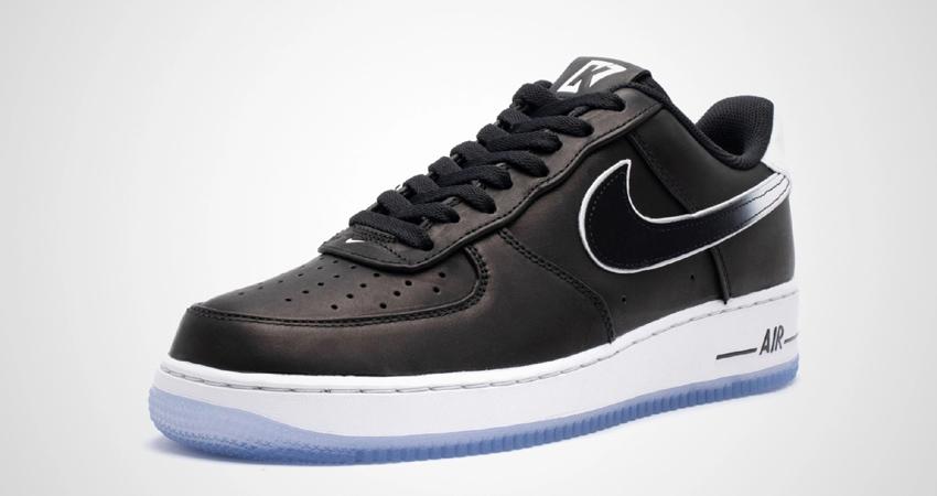 Official Look At The Colin Kaepernick Nike Air Force 1 Black