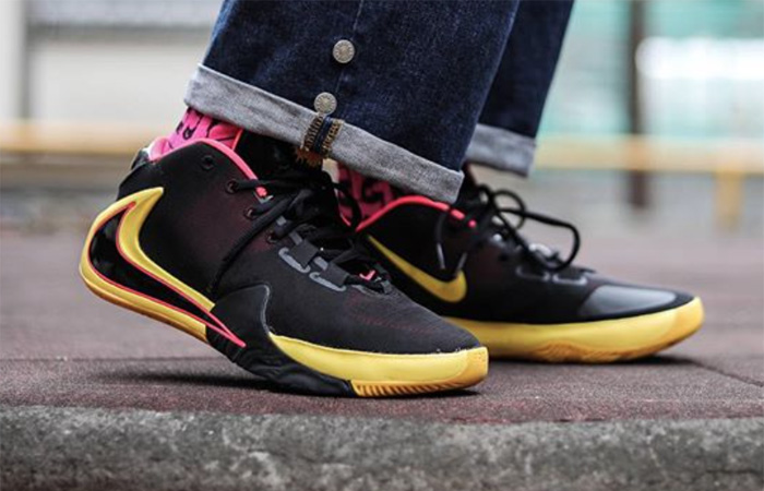 On Foot Look At The Nike Zoom Freak 1 Soul Glo ft