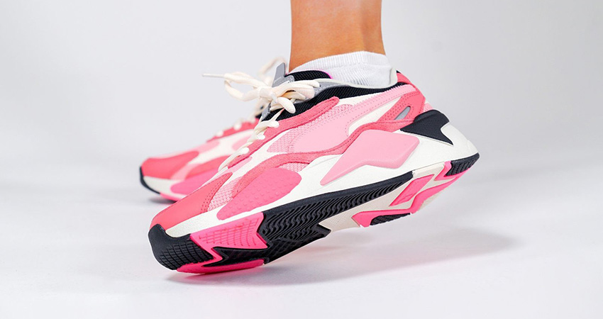 On Foot Look At The Pink PUMA RS-X 3 Puzzle 02
