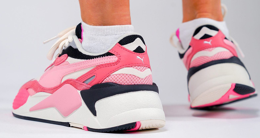 On Foot Look At The Pink PUMA RS-X 3 Puzzle 03
