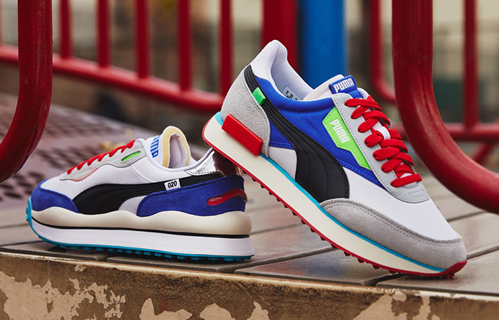 Puma Reimagines The 80s Fast Rider OG Within Two More Colourways ft