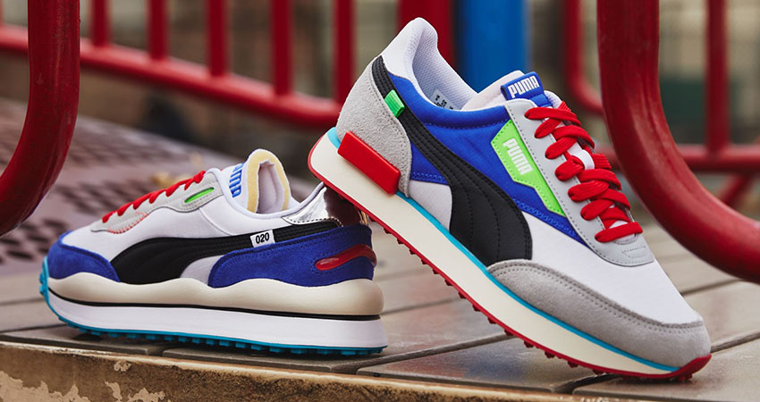 Puma Reimagines The 80s Fast Rider OG Within Two More Colourways