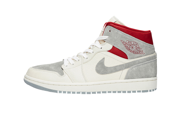 Sneakersnstuff Air Jordan 1 Mid Premium Grey White CT3443-100 01
