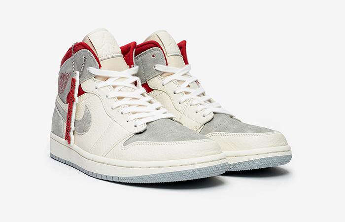 Sneakersnstuff Air Jordan 1 Mid Premium Grey White CT3443-100 04