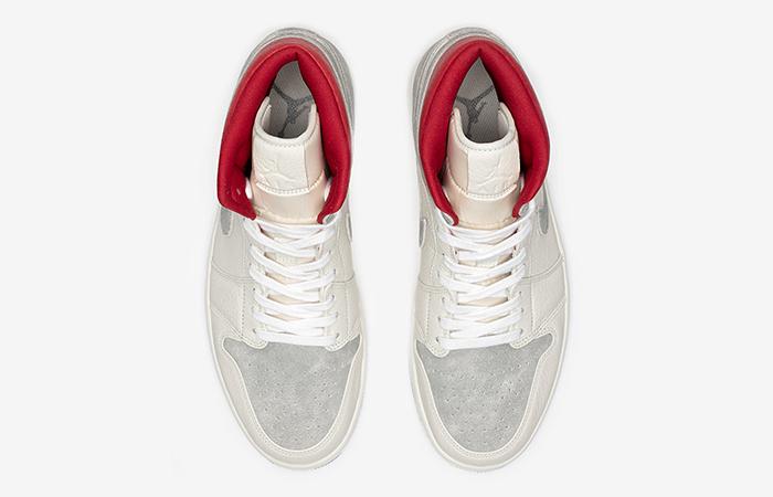 Sneakersnstuff Air Jordan 1 Mid Premium Grey White CT3443-100 06