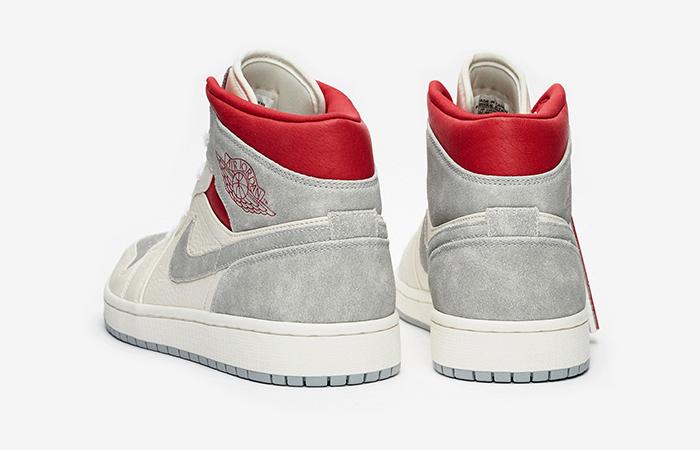 Sneakersnstuff Air Jordan 1 Mid Premium Grey White CT3443-100 07