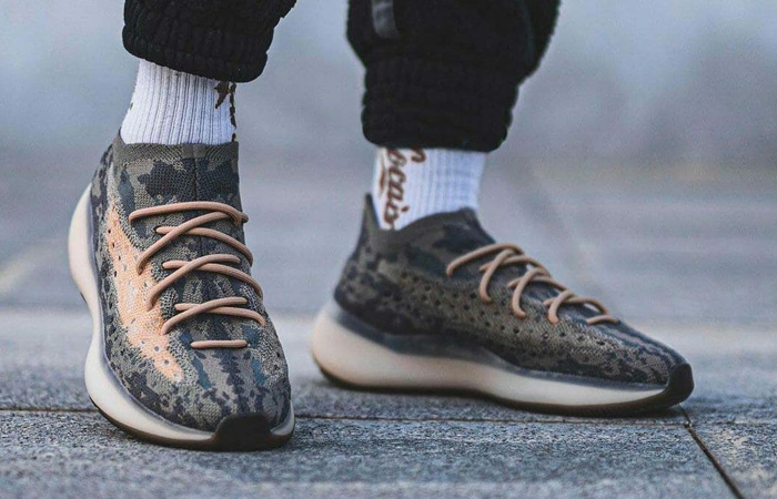 On Foot Look At The New Yeezy Boost 380 Mist ft