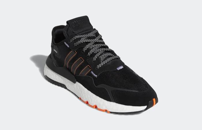 adidas Nite Jogger Black Red FW0187 02