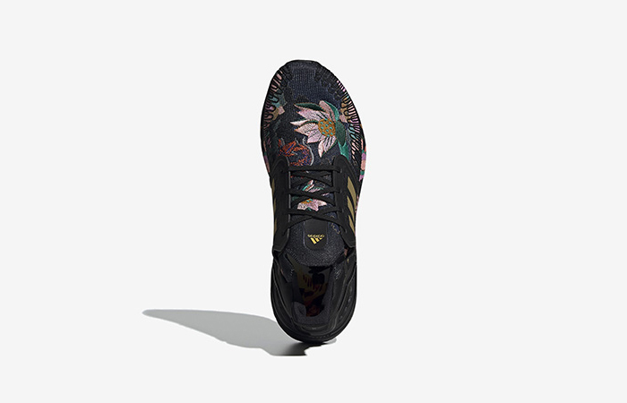 adidas Ultra Boost 20 DNA Floral Black FW4310 03