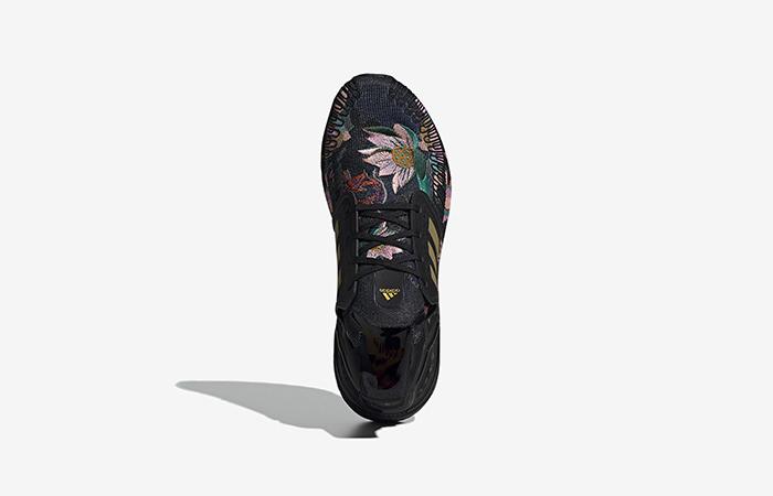 adidas Ultra Boost 20 DNA Floral Black FW4310 03