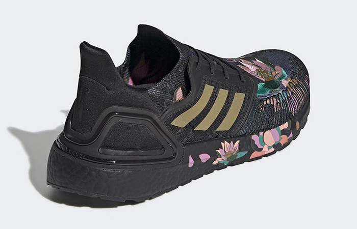 adidas Ultra Boost 20 DNA Floral Black FW4310 04