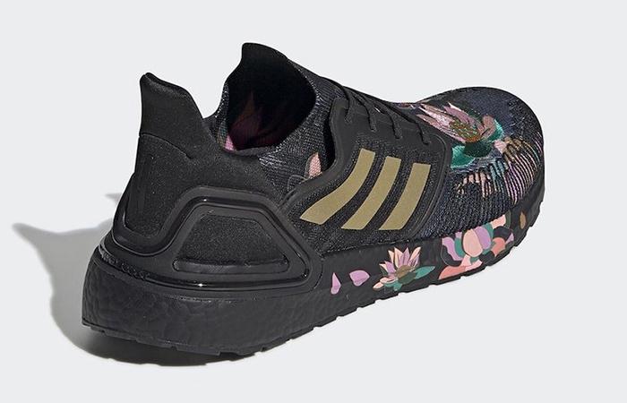 adidas Ultra Boost 20 DNA Floral Black FW4310 04