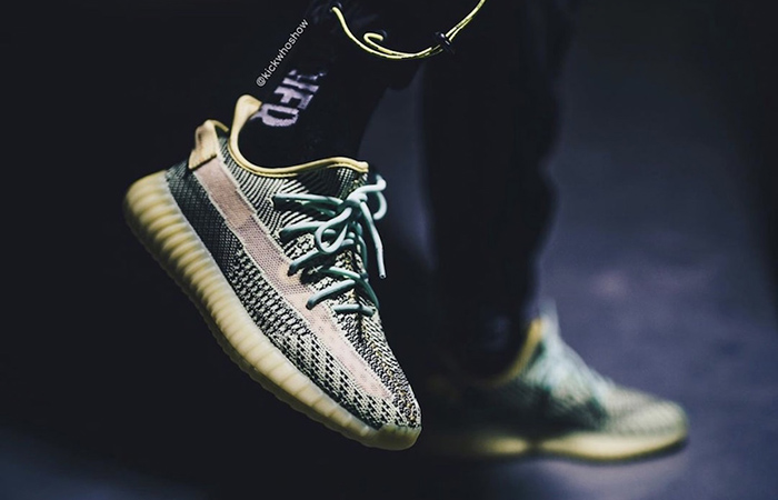 adidas Yeezy 350 V2 Yeezreel FW5191 on foot 02