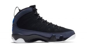 Air Jordan 9 Dressed Up With Black Velvet And Hyper Blue Colorways 02