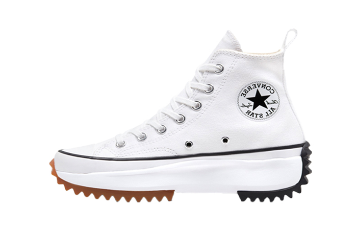 Converse Run Star Hike High White Black 166799C 01