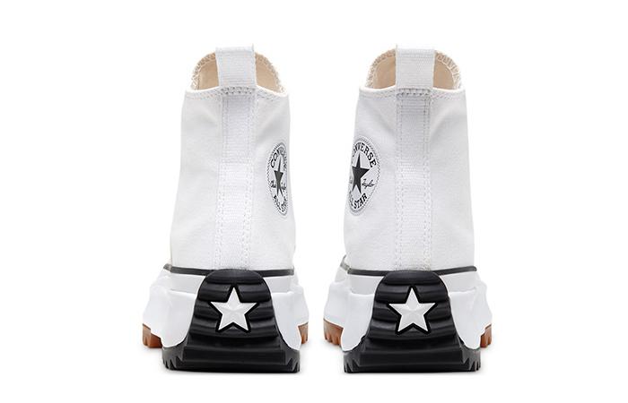 Converse Run Star Hike High White Black 166799C 06