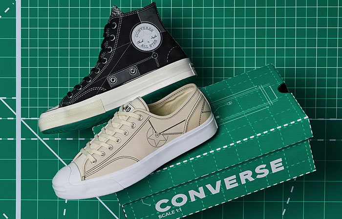 END Illustrates An Architectural Work In Converse Chuck 70 And Jack Purcell For Blueprint Pack ft