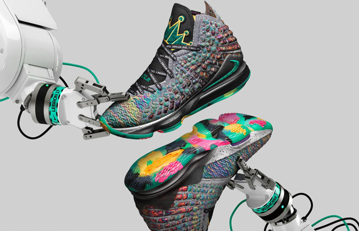 First Look At The Nike LeBron 17 I Promise ft