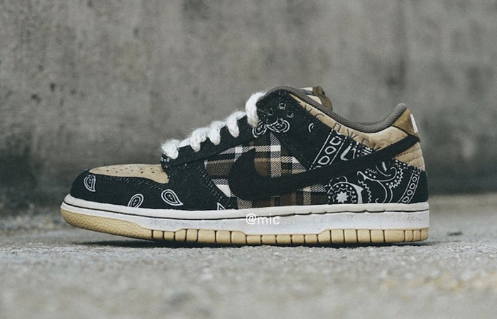 More Images Are Here Of Travis Scott Nike SB Dunk Low Cactus Jack ft