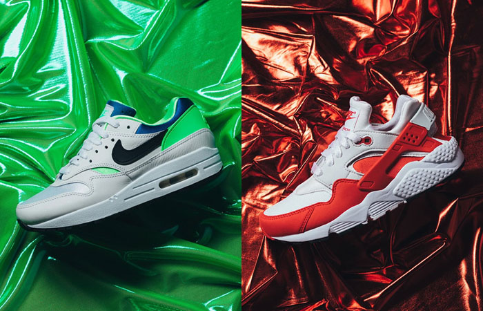 More Images Of Nike Air Max 1 Huarache DNA Series Collection ft