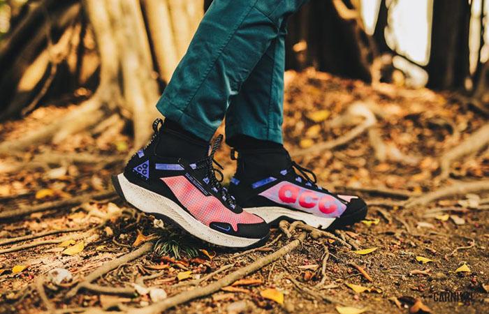 Nike ACG React Terra Zaherra Black Pink CQ0076-600 on foot 01