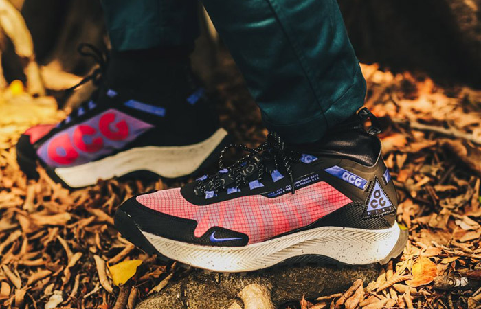 Nike ACG React Terra Zaherra Black Pink CQ0076-600 on foot 02