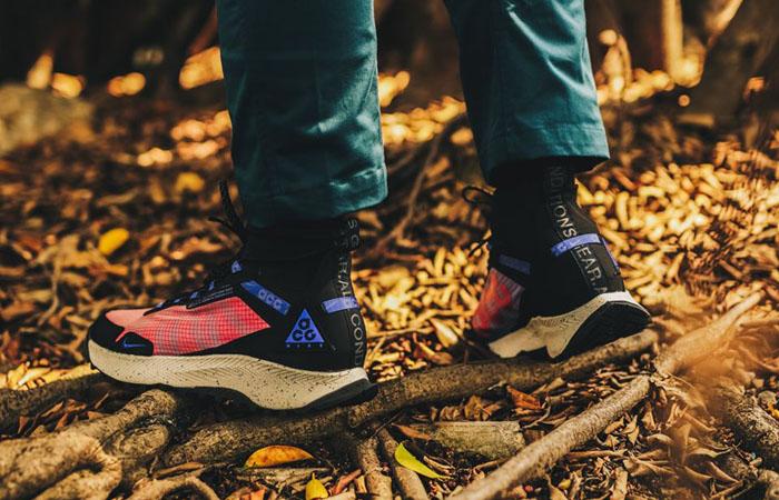 Nike ACG React Terra Zaherra Black Pink CQ0076-600 on foot 03