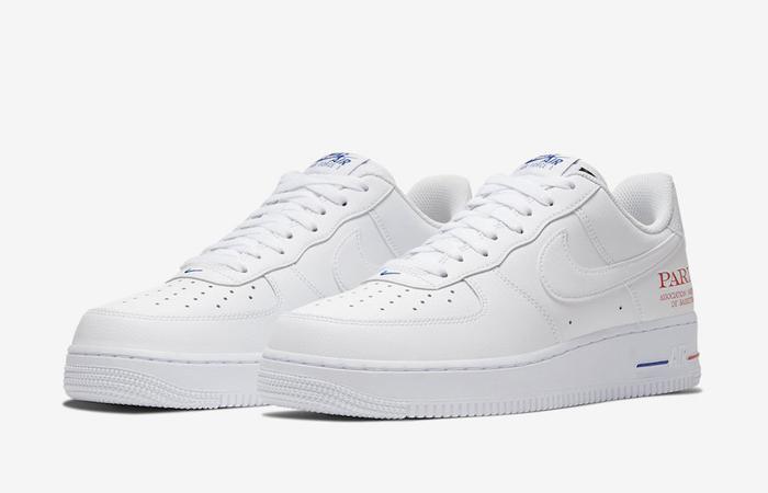 Nike Air Force 1 07 LV8 Clear White CW2367-100 02