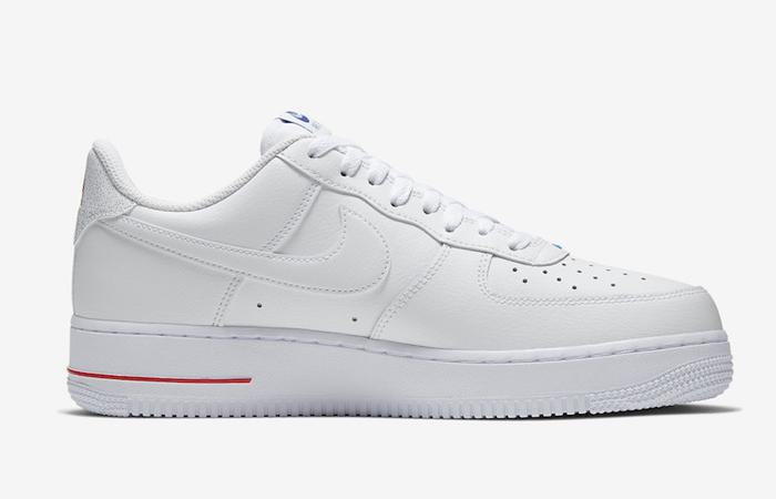 Nike Air Force 1 07 LV8 Clear White CW2367-100 03