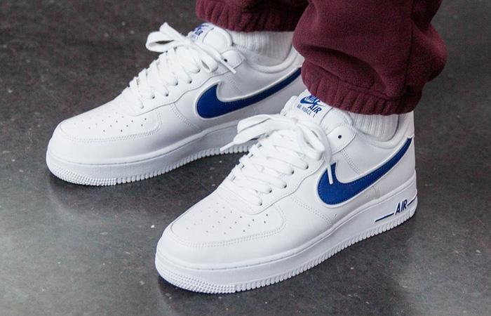 Nike Air Force 1 Low Men's Basketball Shoes Midnight NavyMidnight NavyWhite sku:88298436