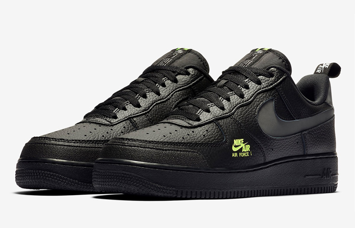 Nike Air Force 1 LV8 Utility Black CV3039-002 02