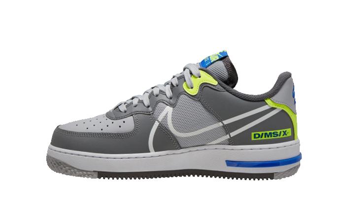 Nike Air Force 1 React DMSX Grey White CD4366-002 01