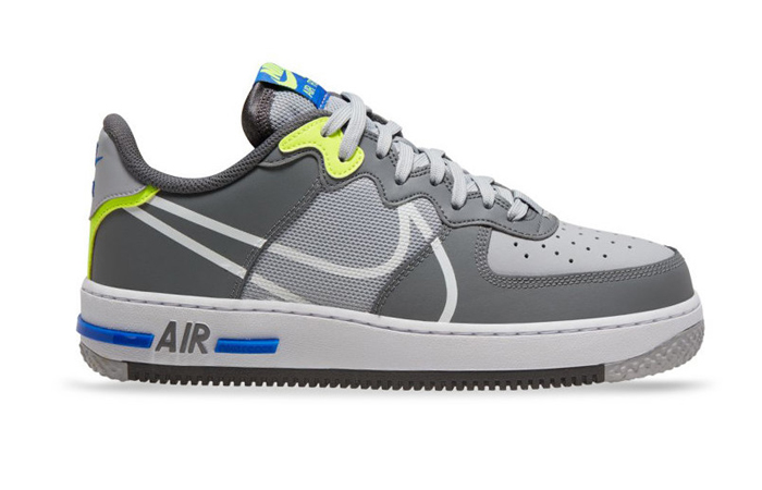 Nike Air Force 1 React DMSX Grey White CD4366-002 03