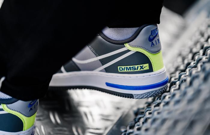 Nike Air Force 1 React DMSX Grey White CD4366-002 on foot 03
