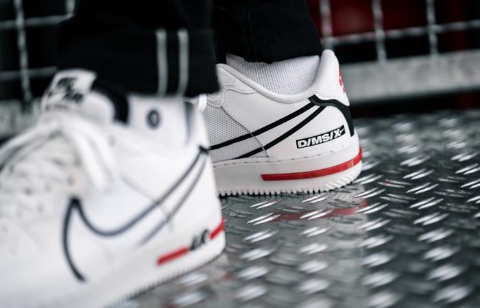 Nike Air Force 1 React DMSX White CD4366-100 on foot 03
