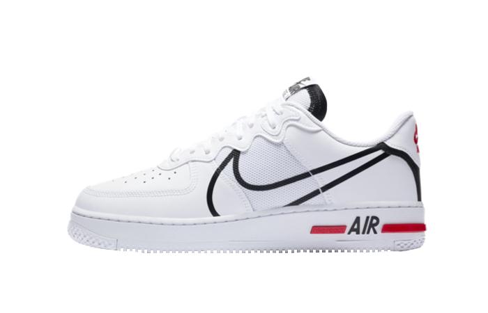 Nike Air Force 1 React White CD4366-100 01