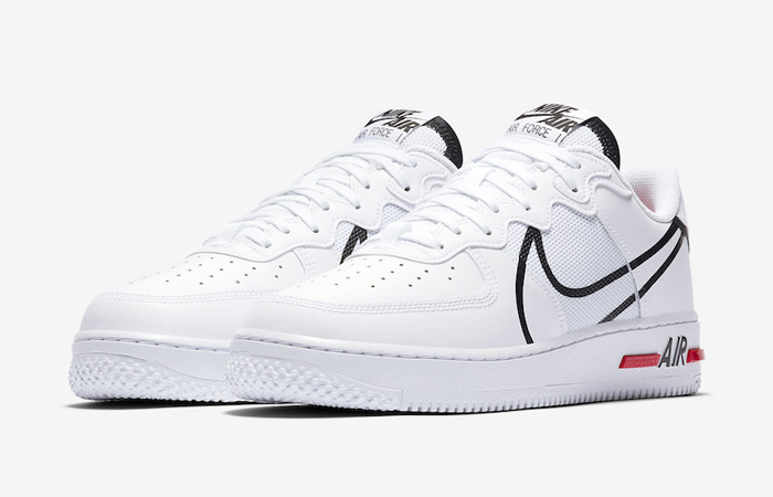 Nike Air Force 1 React White CD4366-100 02