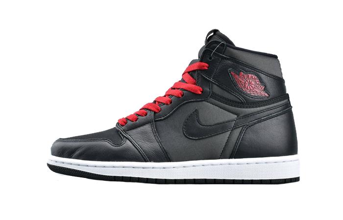 Nike Air Jordan 1 High Retro Black Satin 555088-060 01