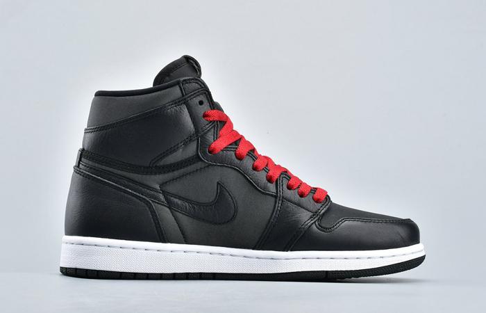 Nike Air Jordan 1 High Retro Black Satin 555088-060 06