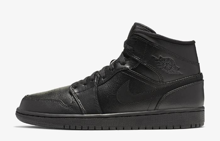 Nike Air Jordan 1 Mid Black Restock At Nike ft