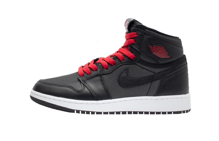 Nike Air Jordan 1 Retro High OG GS Satin Black 575441-060 01