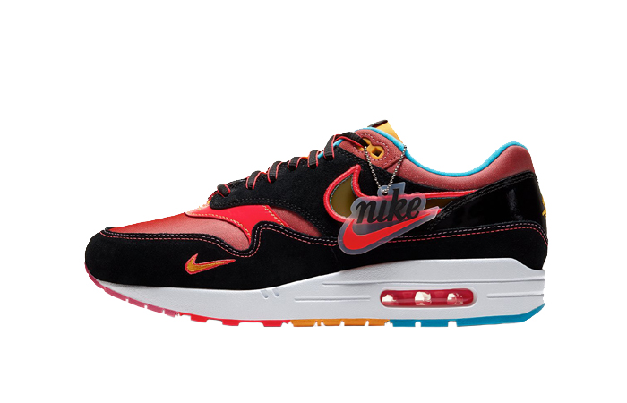 Nike Air Max 1 Chinese New Year Black Red CU6645-001 01