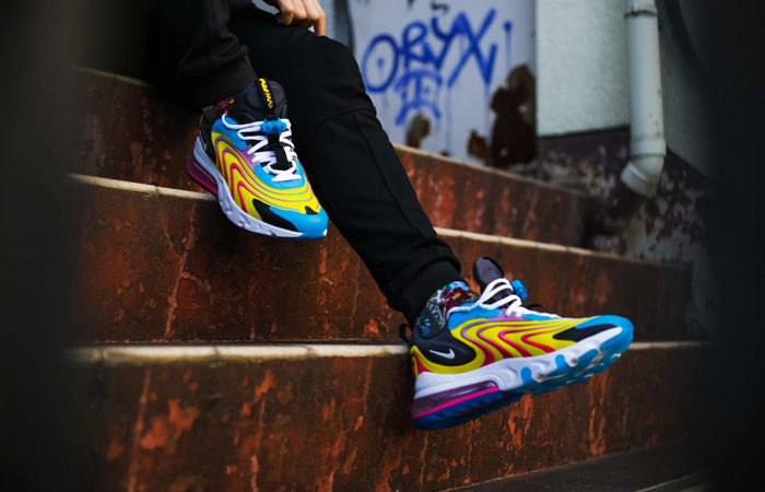 nike air max 270 react eng blue